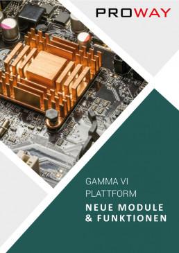 Broschüre-Gamma-Plattform-Module-Funktionen